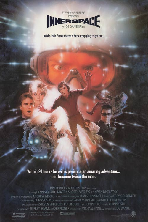 1987 Innerspace Poster