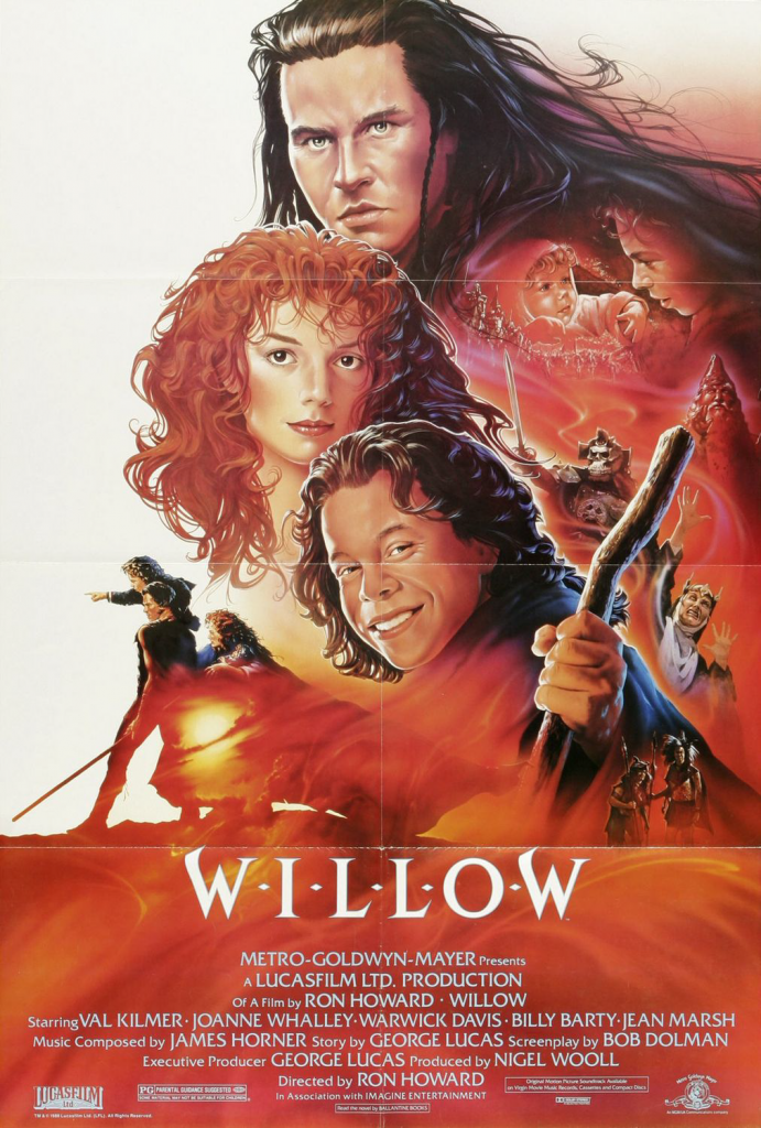 Willow official 1988 poster