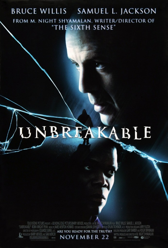 Unbreakable Movie Poster 2000