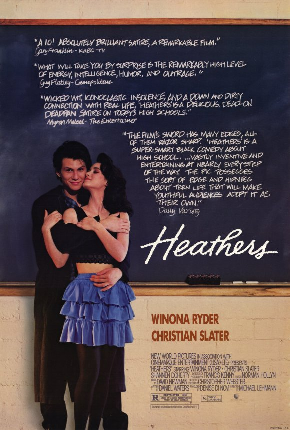 Heathers 1989 Movie Poster