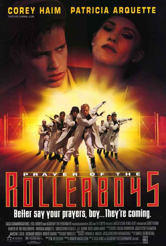 Prayer of the Rollerboys 1990 Corey Haim sci-fi movie