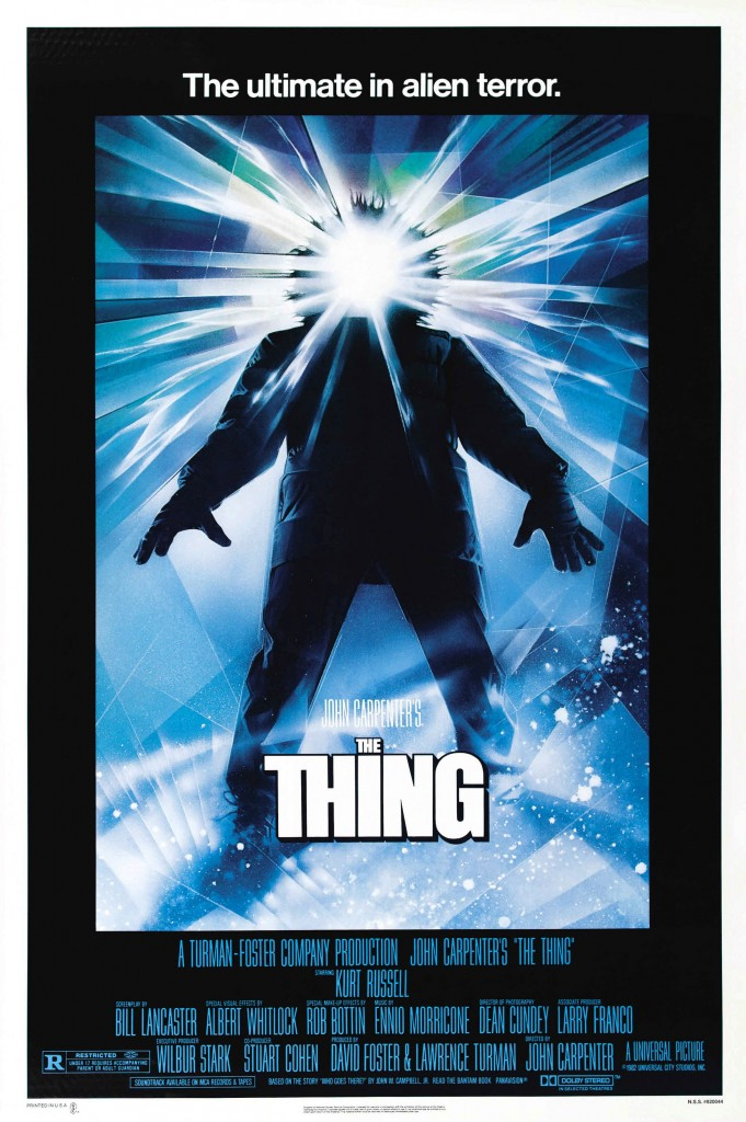 John Carpenter's The Thing Poster 1982