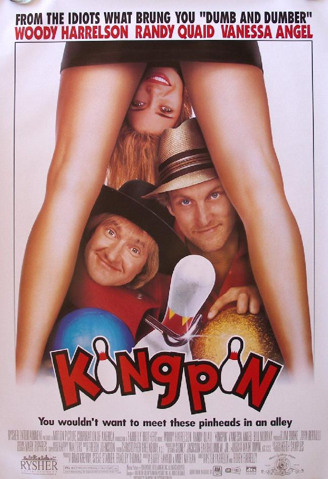 Kingpin Poster 1996 - Farrelly Brothers